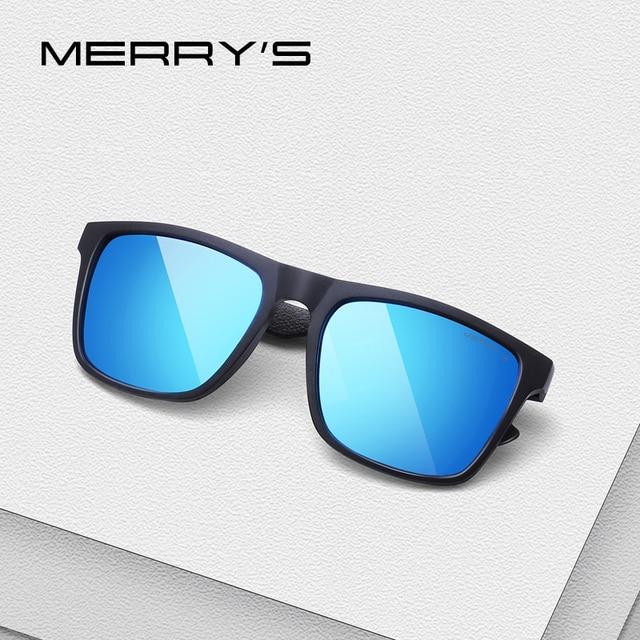 MERRYS дизайн Для мужчин Классические Алюминий сплава очки HD поляризованные солнцезащитные очки для вождения Спорт на открытом воздухе UV400 защиты S8530