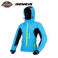 Benkia мотоцикл куртка женская Байкерская мотоциклетный дождевик одежда куртка ветровка, ветрозащитная дышащая мотоциклетная куртка с капюш