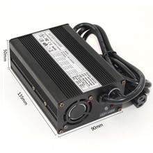 58,4 В 3A LiFePO4 Батарея зарядное устройство 16 s 48 В LiFePO4 Батарея зарядное устройство алюминиевый