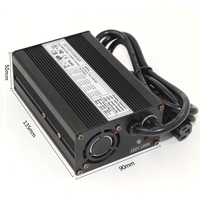 58.4V 3A LiFePO4 Battery charger 16S 48V LiFePO4 battery charger  aluminum|Chargers| |  -