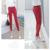 7 Colores Más El Tamaño Pantalones de larga Duración en Las Mujeres Del Otoño Del Resorte Pantalones Causales Delgado de Cintura Alta Legging Elástico Pantalones lápiz 2016 A663