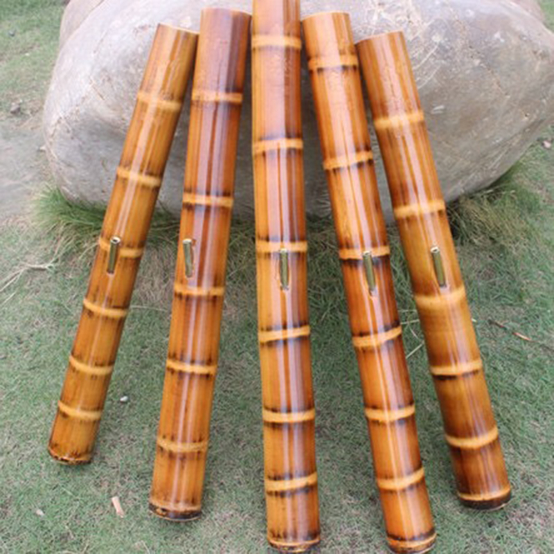 High-quality filter hookah Natural green bamboo water pipe Cigarette pipe tobacco pipe Stem product length 30cm-55cm different s