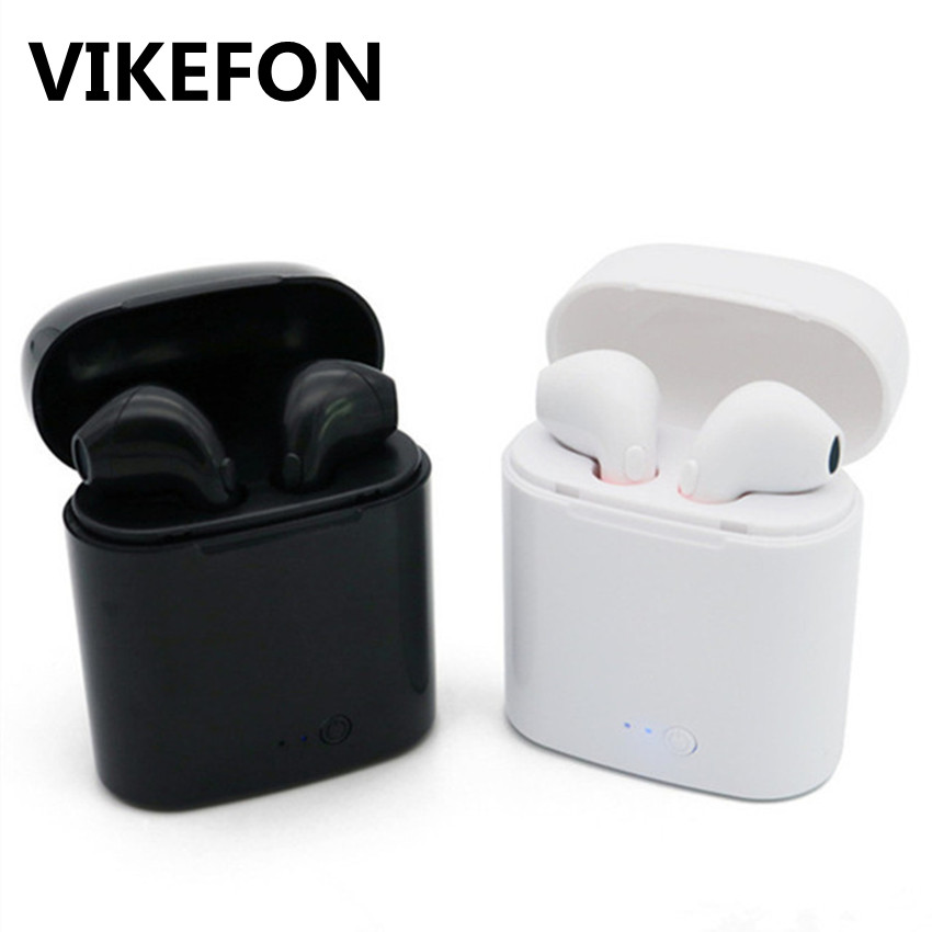 i7s TWS Mini Wireless Bluetooth Earphone Stereo Earbud Headset With Charging Box Mic For Iphone Xiaomi