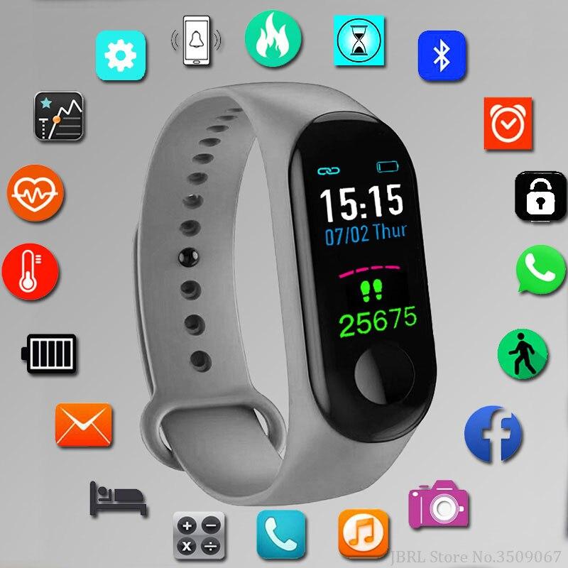 JBRL Sport Digital Watch Children Watches Kids For Girls Boys Child Wrist Watch Digital Electronic LED Wristwatch Students Clock
