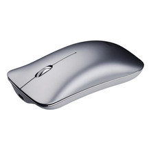 Souris optique Ultra-mince de haute qualité portative de Recharge d'alliage d'aluminium de double Mode de Cliry 2.4 Ghz + Bluetooth 4.0 pour Mac(China)