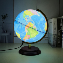earth globe Mini blue world map home decor gift 25cm decoration accessories Vintage ornaments English work