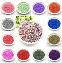 300 pçs 3mm cor sólida charme tcheco contas de semente de vidro diy pulseira colar para fazer jóias artesanato