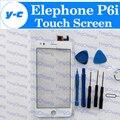 Elephone P6i Сенсорный Экран + Инструменты Комплект Оригинальный Digitizer Стекло Тяга Для P6i MTK6582 960x540 5.0 ''сотовый Телефон Свободный Корабль