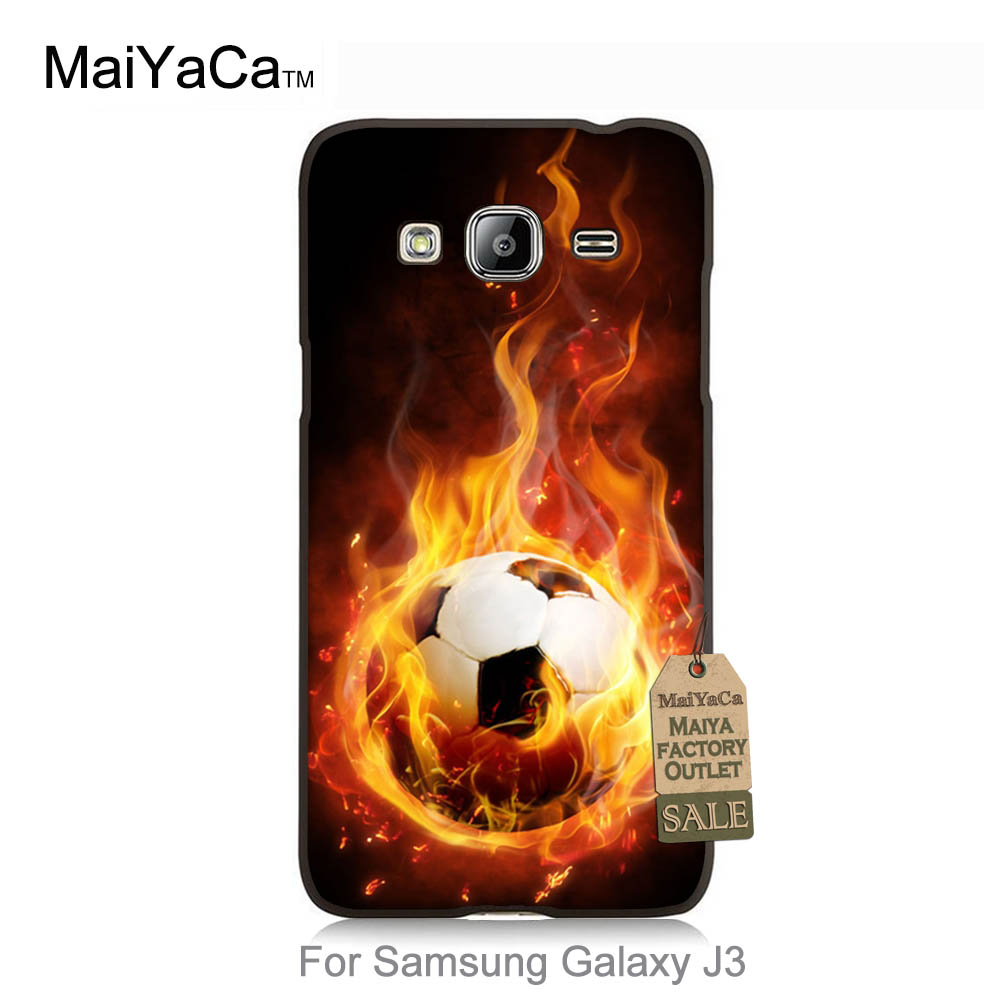 Diy Cell Phone Protective Cover For case J3 2015 Hunger Games Quotes fire football