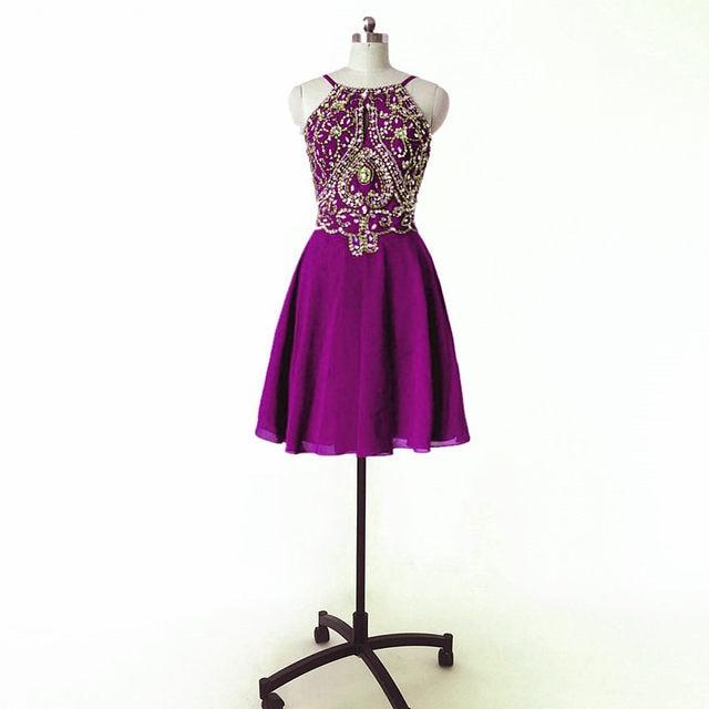 Online Shop Short Prom Dresses 2017 knee length evening dresses ...