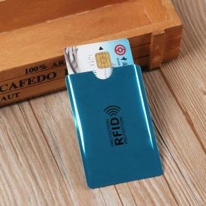 ISKYBOB 10PC Id Bank Card Case Metal Credit Card Holder