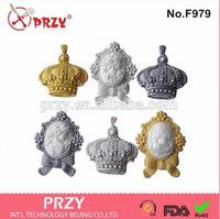 Crown Silicone Products Manufacturing Food Grade Crown Silicone Molds Fondant Mold Chocolate Mould For Cake Decorations