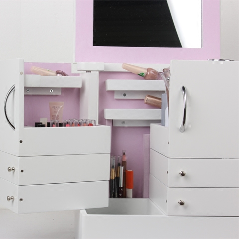 supermarket fashion design sale display cabinet makeup cosmetic counters retail