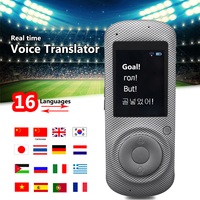 Portable Wifi Device Smart Voice Translator Simultaneous 16 Languages Instant Translator Traveling Meeting Learn Russian English