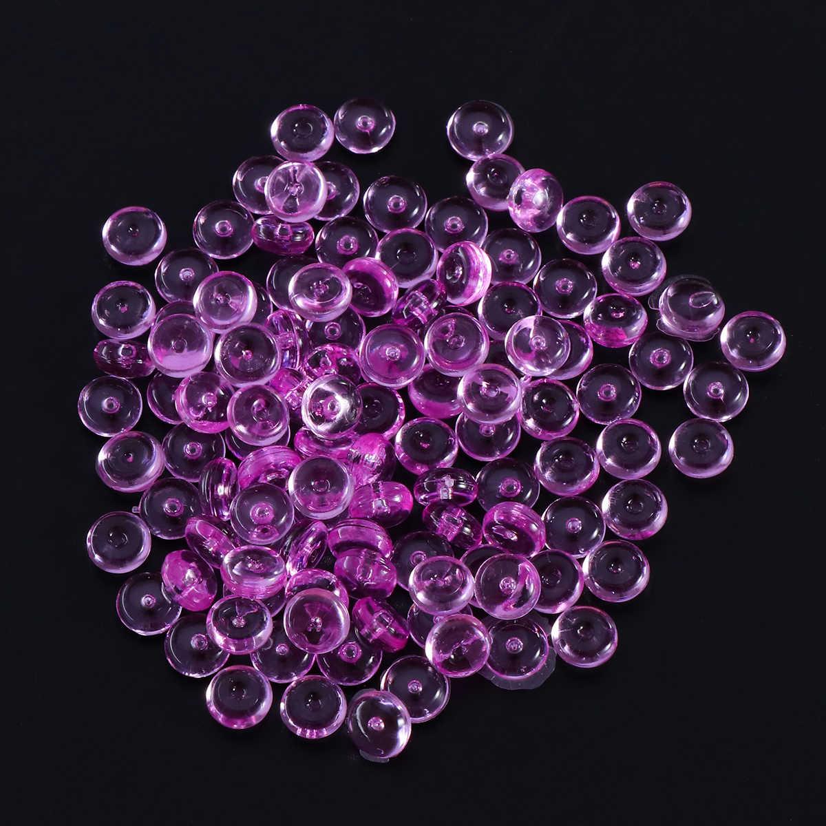 3 пачки 3 вида цветов Пластиковые Ваза наполнителя бисер аквариуме бусины для слизи делая DIY художественных промыслов Свадьба украшения