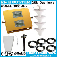 Up to 1000sqm Wholesale GSM/DCS 900mhz/1800mhz LCD display cellular mobile/cell phone signal repeater booster amplifier detector