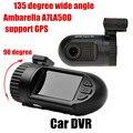 135 degree wide angle Mini0805 Ambarella Camcorder Car DVR GPS 1.5 inch TFT Screen video recorder