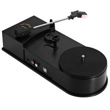 3.5mm USB 2.0 Mini Phonograph Turntable Record Audio Player Vinyl Turntable to MP3/WAV/CD Converter Support 33 / 45PRM Function(China)