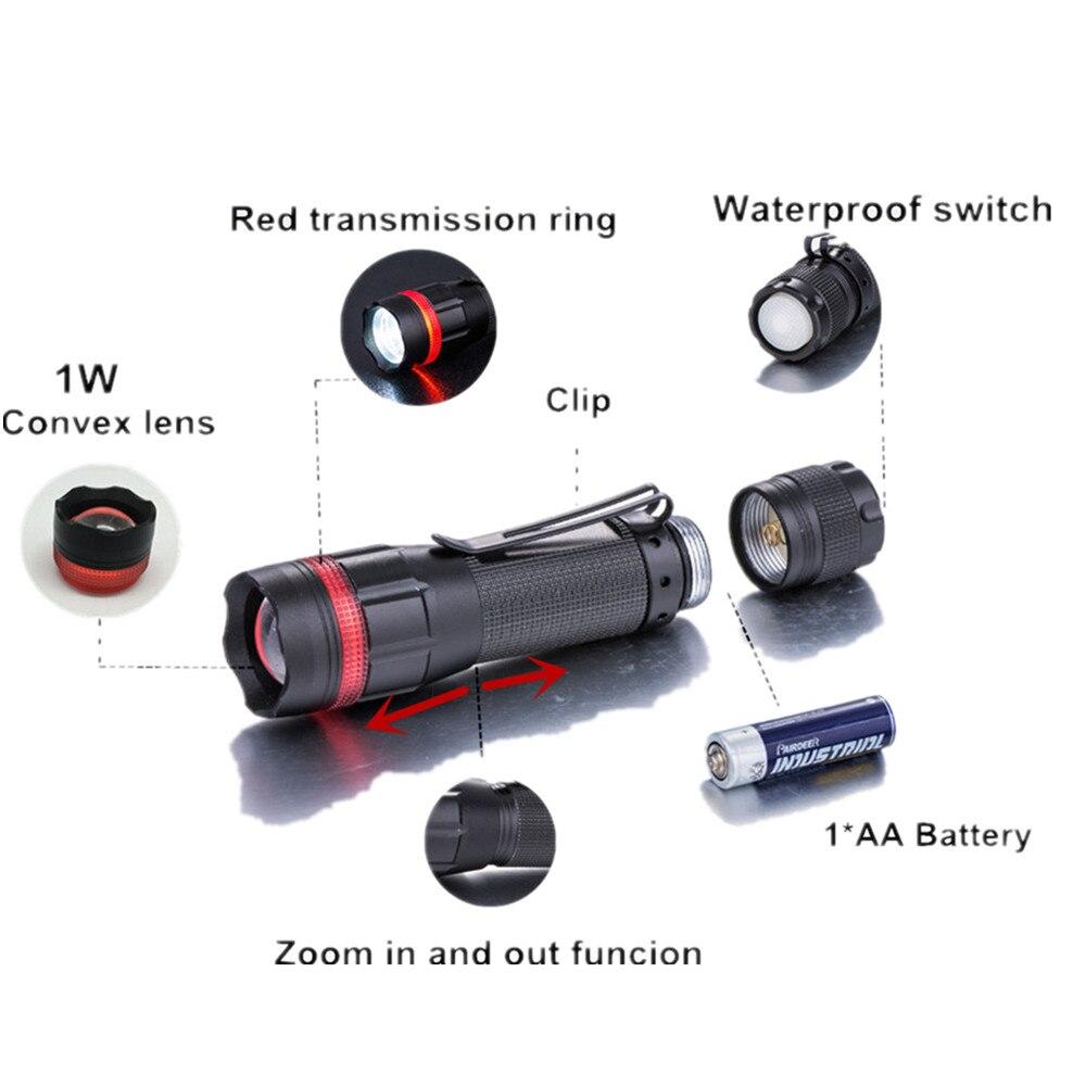Uşaqların istifadə etməsi üçün Taiyi Mini LED Fənər 1W Suya - Portativ işıqlandırma - Fotoqrafiya 3