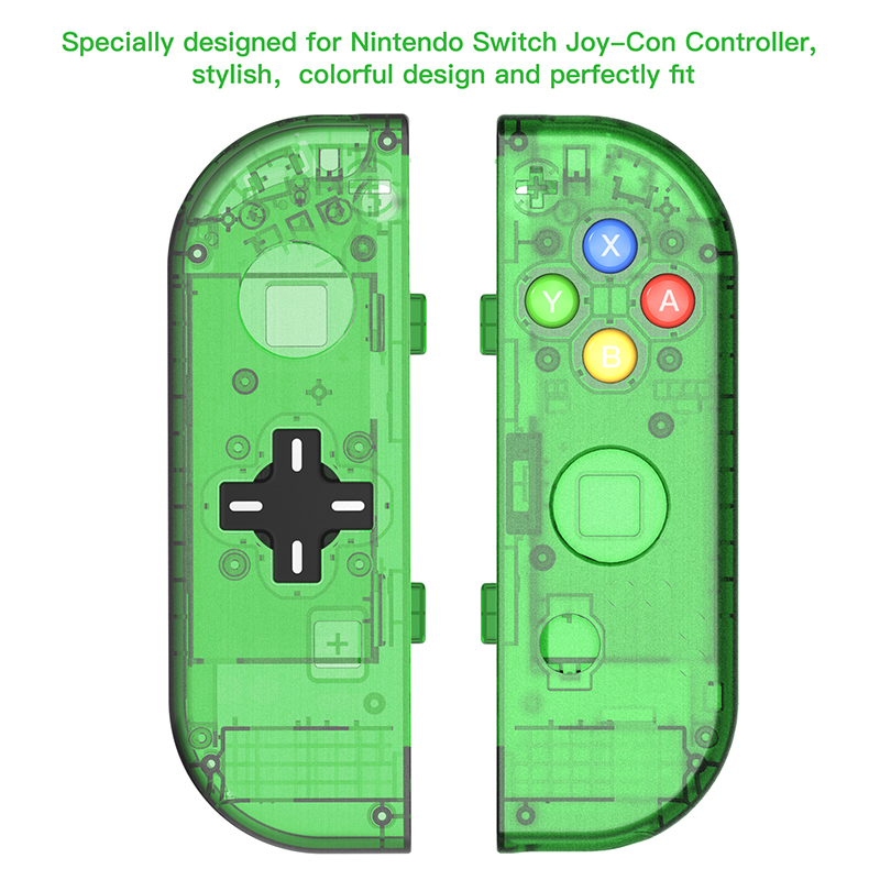 Image 5 - (D PAD Version) Replacement Housing Case for Nintend Switch NS Controller Joy Con shell game console switch case-in Replacement Parts & Accessories from Consumer Electronics