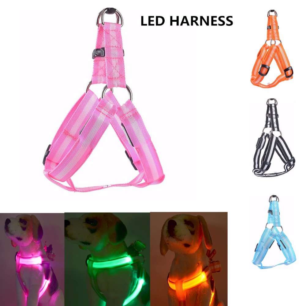 Dog Clothing & Shoes Reasonable Pet Collar Led Harness Light Accessories Night Round Lighting Safety Dog Pet Dogs Collar Led Glowing Collars For Dog To Assure Years Of Trouble-Free Service Pet Products