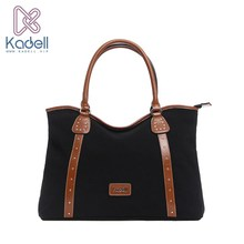 Kadell Luxury Handbags Women Famous Brands Canvas Totes Bags Stripe Shopping Bag With Zipper Tote Shoulder Bags