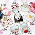 Barato al por mayor anime Hello Kitty/Totoro/no la cara del hombre/Gintama/Inuyasha/Elizabeth insignia de Acrílico lindo pin 8 unids/set envío gratis