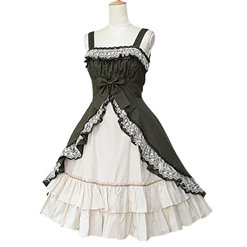 Jolies robes Lolita JSK robe Lolita Vintage femmes robe Lolita vêtements de fête