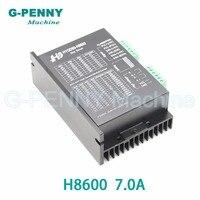 Nema 23 Nema34 CNC Stepper motor Driver H8600 24 70VDC, 20 50VAC Microstep 256, 2.0 7.0A stepping motor motion controller .