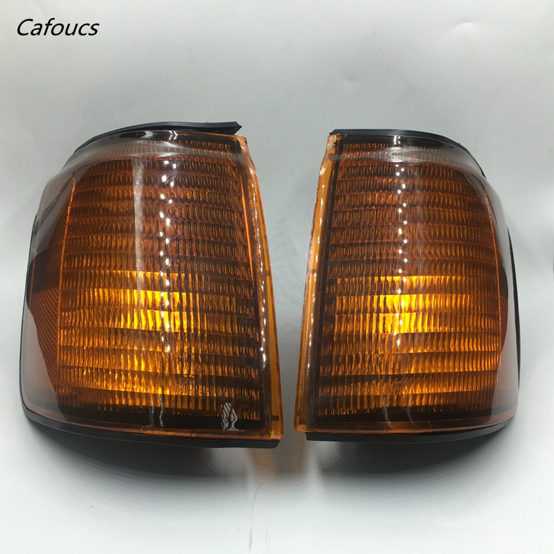 Cafoucs фронт сигнала поворота Лампа угол Лампа рулевого лампа для Мицубиси Монтеро Паджеро V43 наблюдения v45 v46