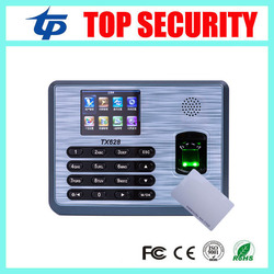 Linux system tx628 id 3200 users fingerprint and 125khz rfid card reader time attendance time clock.jpg 250x250