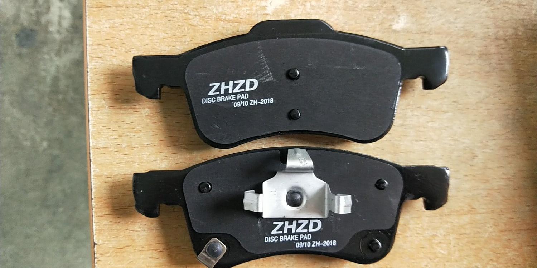 new model Front Brake pads set auto car PAD KIT FR DISC BRAKE for Chinese SAIC