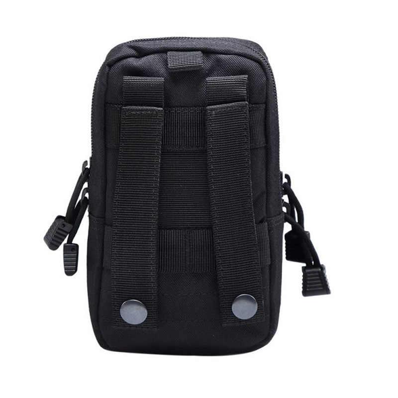 التكتيكية مول الحقيبة حزام الخصر حقيبة العسكرية حزمة مراوح الحقائب في الهواء الطلق جراب هاتف جيب لأكياس الصيد