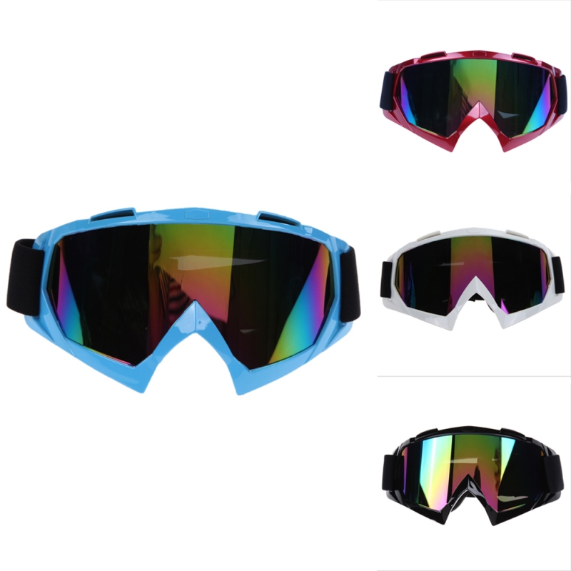Prix pour Bike Racing Lunettes Vélo Équitation Ati-Vent Verre Snowboard Anti-UV Lunettes Ati-brouillard Ski Ski Lunettes Unisexe Moto lunettes