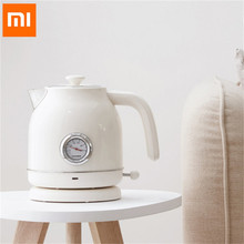 Xiaomi Mijia Ocooker Cs Sh01 1.7l Electric Kettle Stainless Steel Water Thermometer With Clock Display For Home