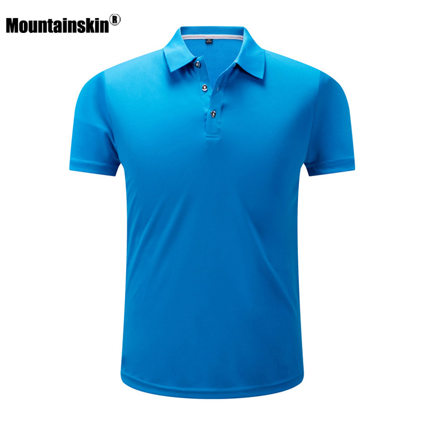 Mountainskin Men's Summer Quick Drying T-Shirt Outdoor Sports Anti-UV Hiking Climbing Camping Fishing Male Short Sleeves VA218