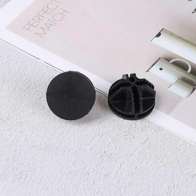 20 pacco Per Il Cubo di Stoccaggio Ripiani e Modulare Organizzatore Chiusura Filo di Colore Nero Cubo di Connettori