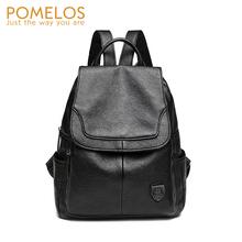 POMELOS Backpack Women 2019 New Season Luxury Fashion For High Quality PU Leather Small Woman Bagpack