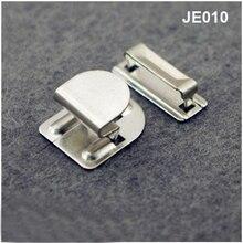 DIY 80 компл./лот#8015 высокое качество 4-часть крючки для брюк металлическая латунь никель цвет он-007