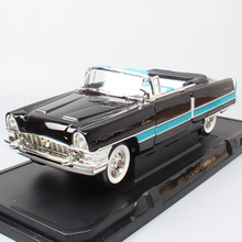 Famous Road Signature 1:18 big vintage car 1955 Packard Caribbean Spyder Diecast Toy Vehicle scale cars model for collector