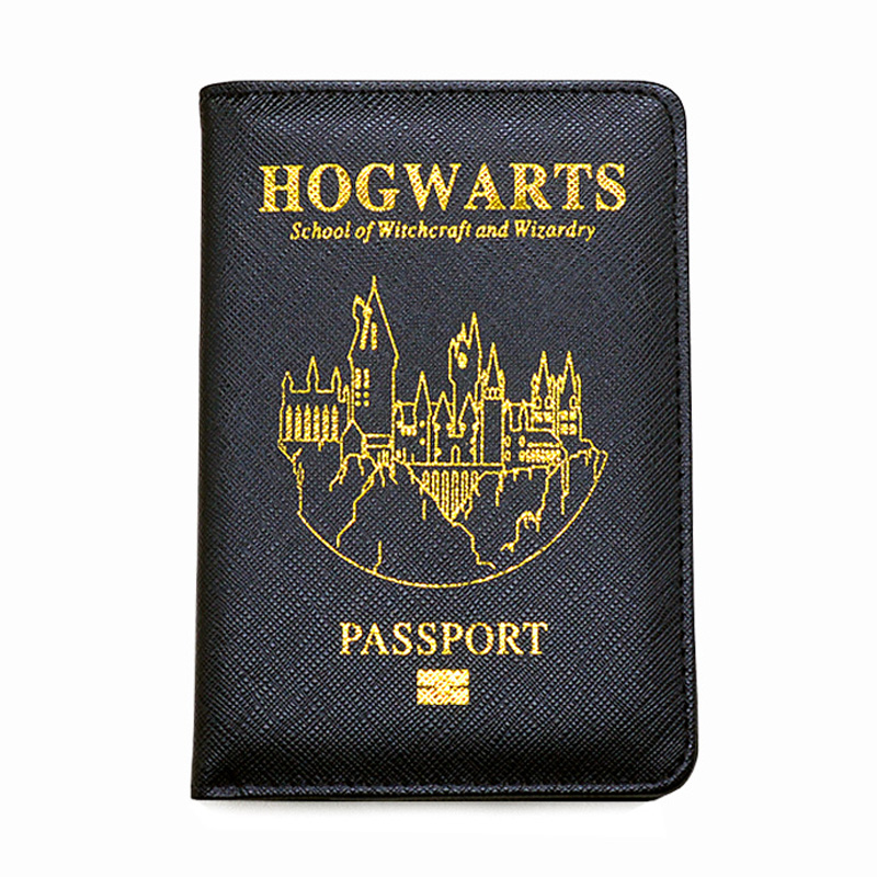 Harri Potter Passport Cover Rfid Blocking UK  Passport Customized Harri Potter Passport Holder Case