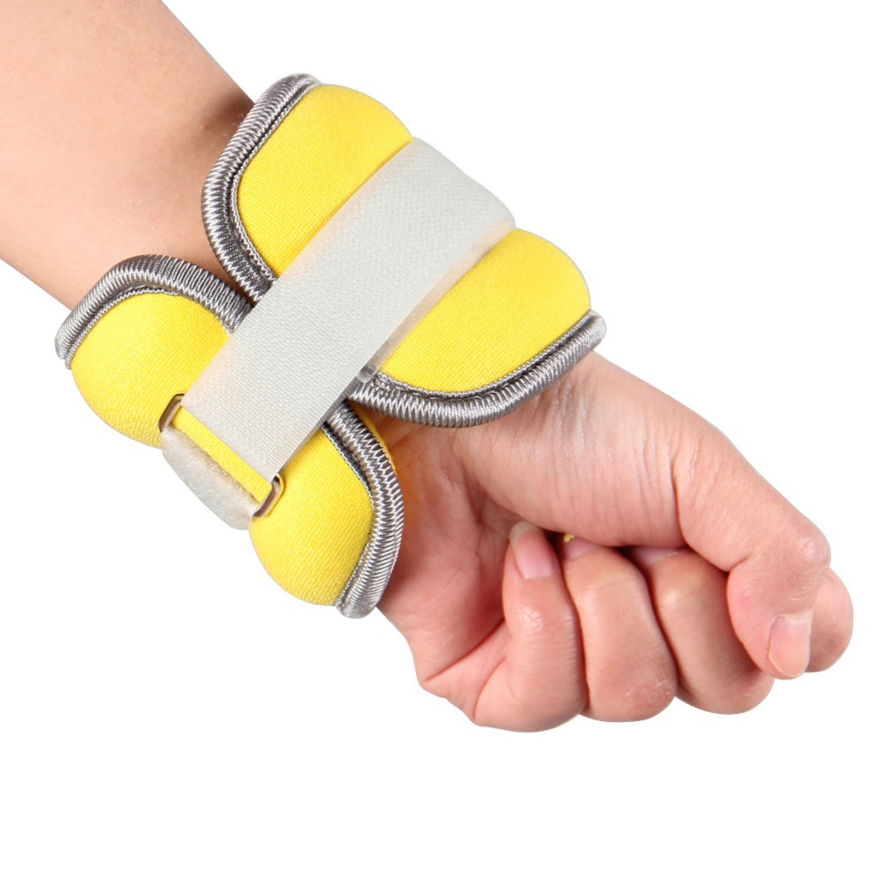 new wrist sandbagged fitness wrist adjustable invisible iron sandbags yoga running sandbag for wholesale and free shipping in Wrist Support from Sports Entertainment