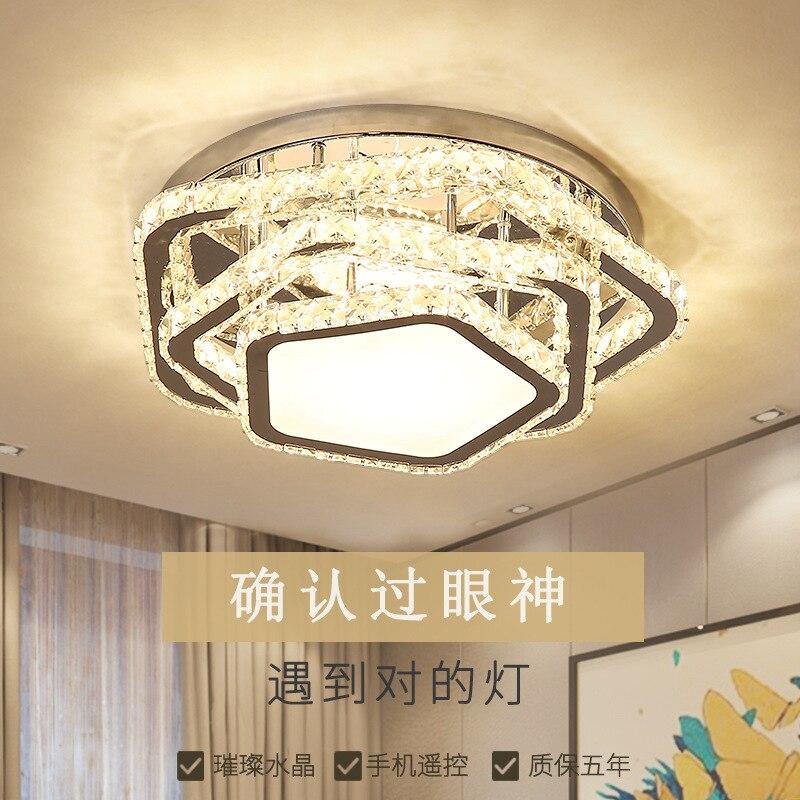 LED plafonniers cristal lampe chambre lampe salon lampe LED plafond encastré plafonnier éclairage plafond
