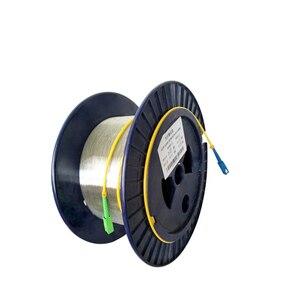 Image 4 - SC 1 キロメートル 9/125 シングル単一の裸ディスク OTDR 測定光ファイバ Otdr テスト光繊維リール