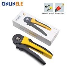 Мини мм 0,08-16 мм 28-5AWG высокое качество точность провода разъем обжимной щипцы для наращивания волос VE трубки Bootlace терминальный инструмент VSC11 16-4 6-4 6-6 FSE