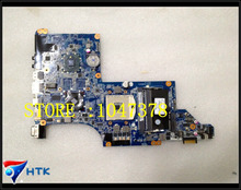 Wholesale laptop motherboard for hp pavilion DV6 DV6-3100 630280-001 DA0LX6MB6H1 HM55 ATI HD 5470 100% Work Perfect