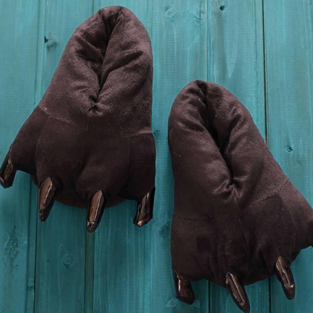 יפה חורף חם דינוזאור תפר פלאפי טופר רצפת תינוק נעלי בית רך minions קטיפה אלמוגים בפלאש בית נעלי בית לילדים נעלי