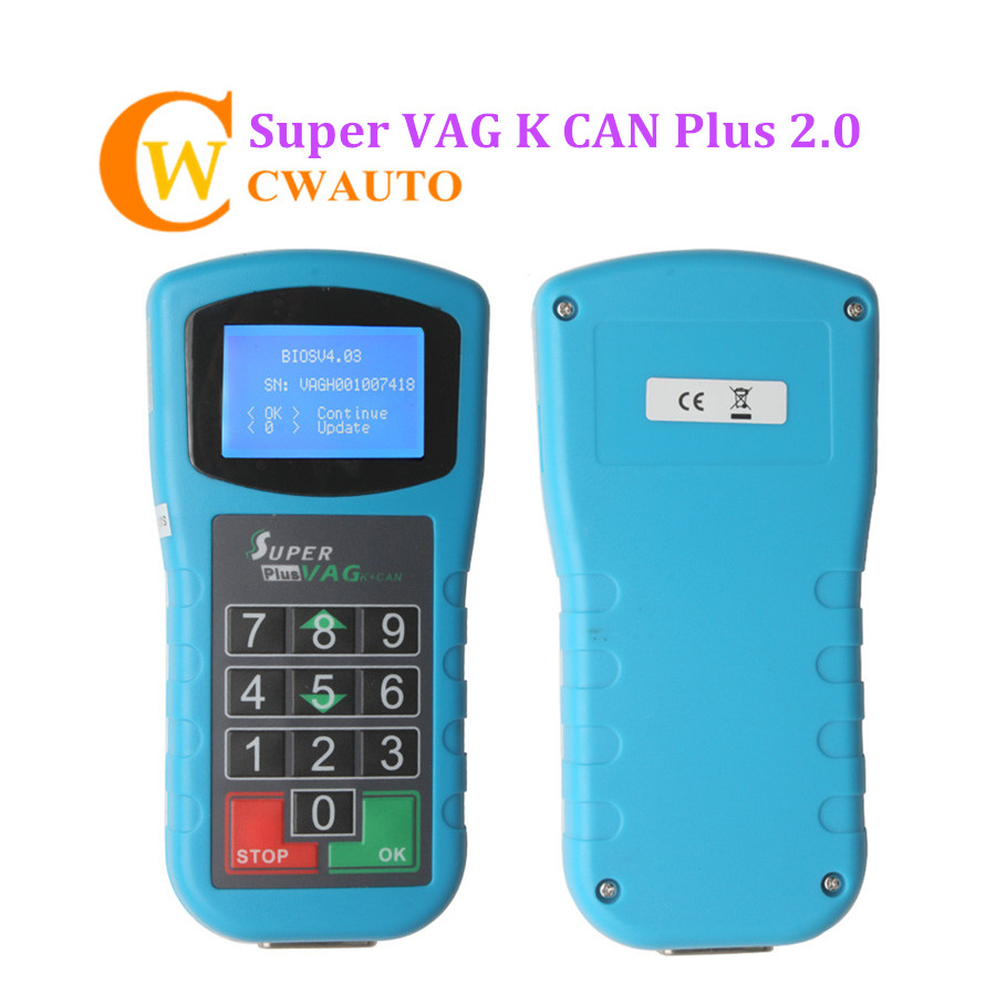 Super VAG K+CAN Plus 2.0 Key Programmer Odometer Correction for VAG Car Diagnostic Scanner parking barrier gate system electric up and down boom barrier gate for vehicle access restrictions or safety checks