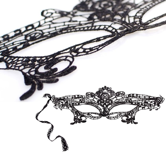 9 Styles Party Costume Lace Eye Masks Women Eyewear Masquerade Prop Dressup for Mask Evening Party 5