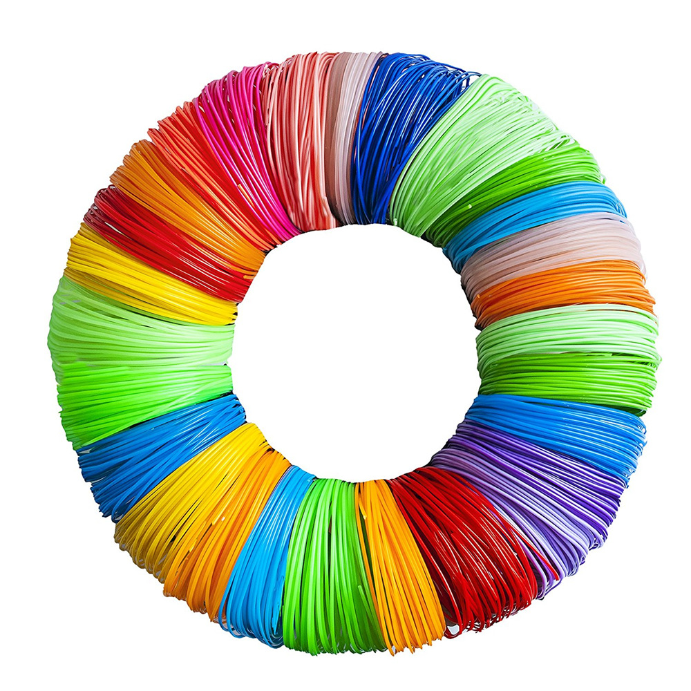 5 farbe oder 20 farbe oder 10 farbe/set 3D Stift Filament ABS/PLA 1,75mm Kunststoff Gummi druck Material Für 3D Drucker Stift Filament